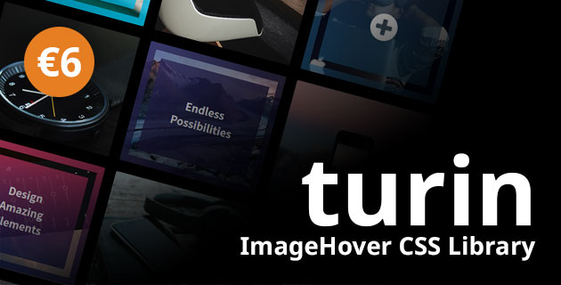 Turin - ImageHover CSS Library